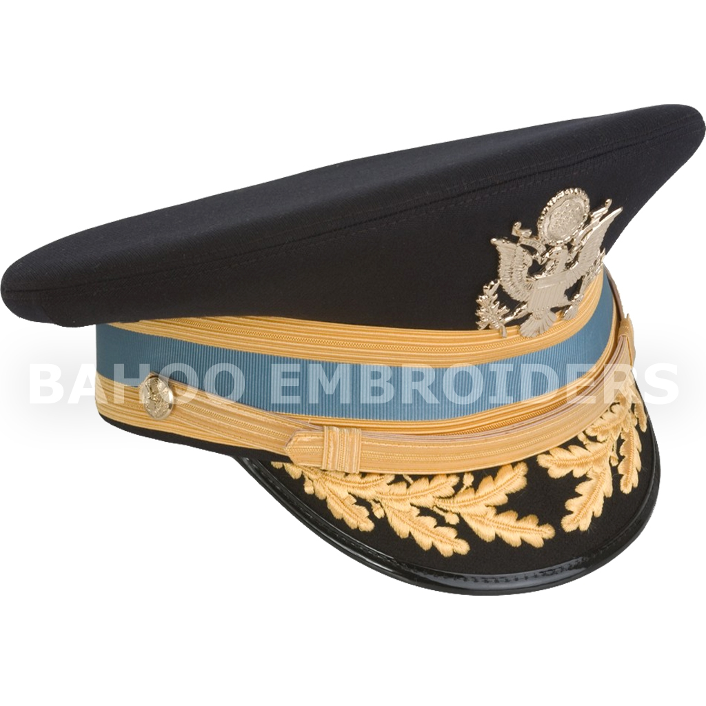13bc3c7980a Male Officer Professional ASU Service Cap – FG Officer (Nylon)